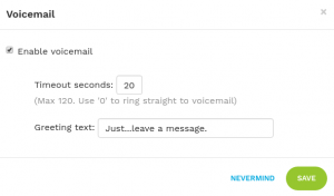 configure_voicemail